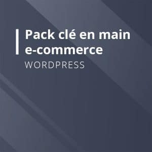 Pack WordPress clé en main E-Commerce