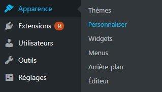 Personnaliser son thème WordPress